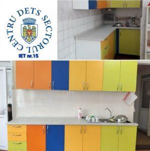 Achiziționarea a 15 bucătării pentru grupele de copii din cadrul IET subordonate
